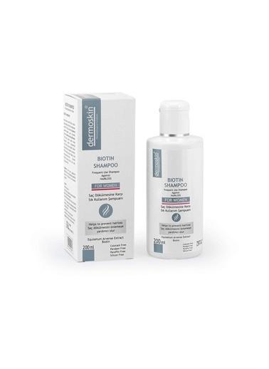 Dermoskin Dermoskin Saç Dökülmesine Karşı Biotin Shampoo For Women 200Ml Renksiz